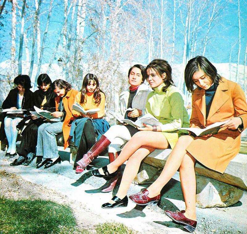 Иран 70-е 1