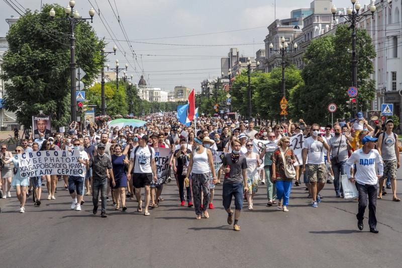Хабаровск протест 1