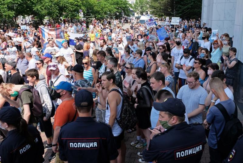 Хабаровск протест 3