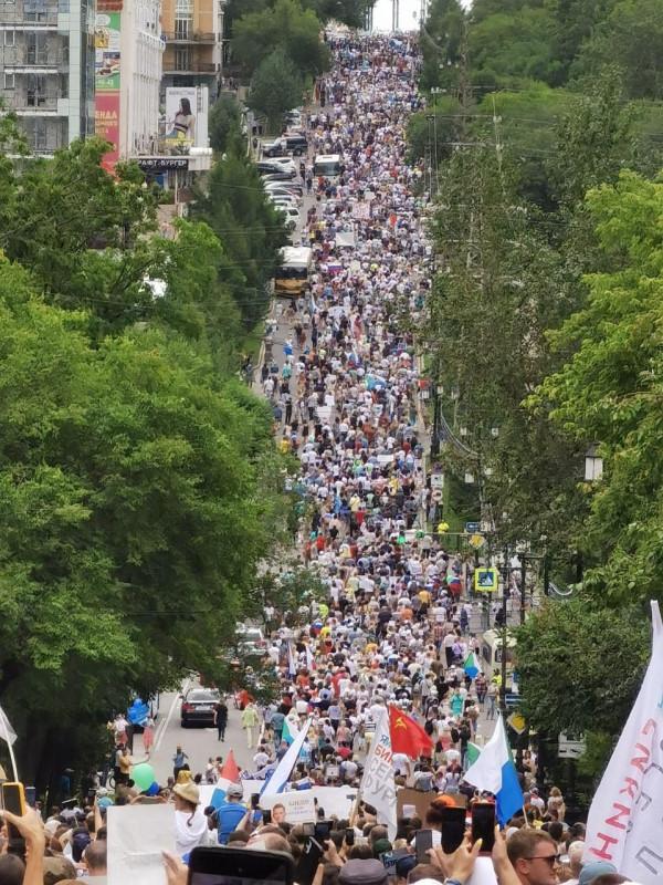 Хабаровск шествие. 2