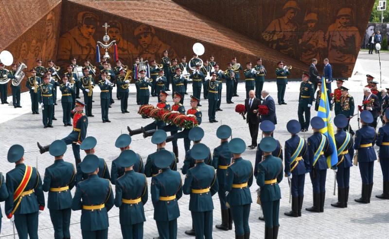 Путин и Лукашенко 30  июня