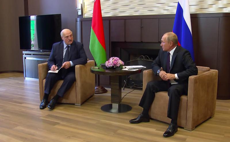 Лукашенко у Путина