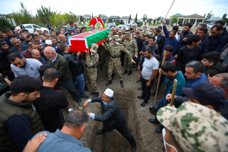 Азербайджан похороны