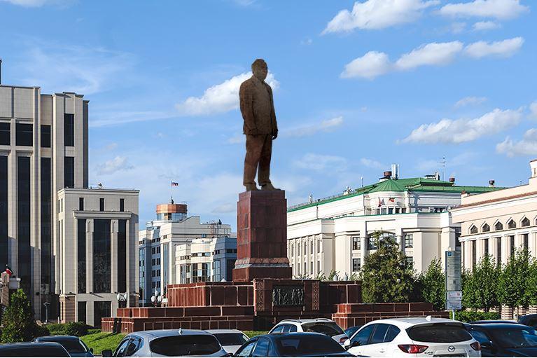 Памятник Шаймиеву