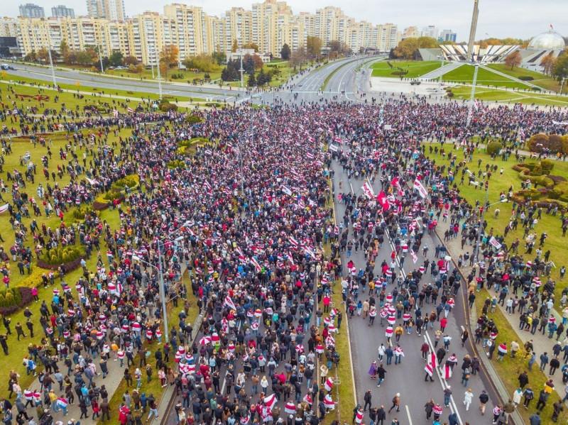 Миннск протест 1
