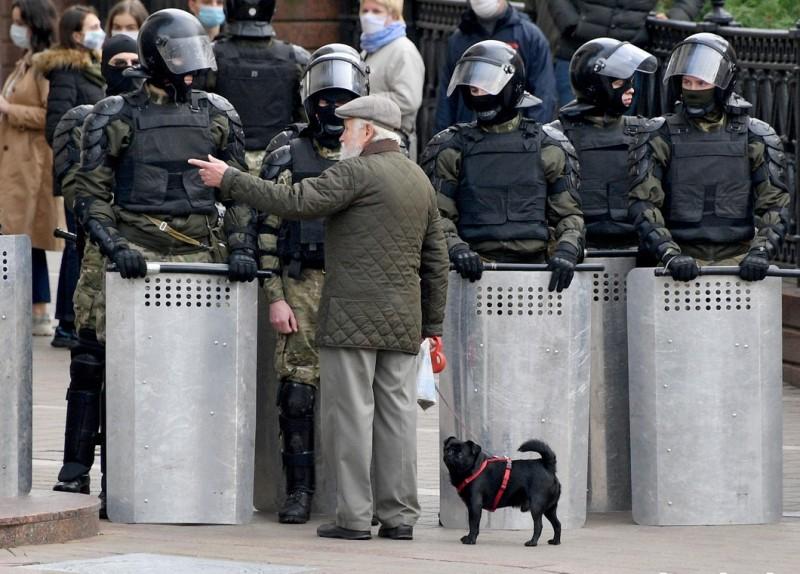 Миннск протест 4