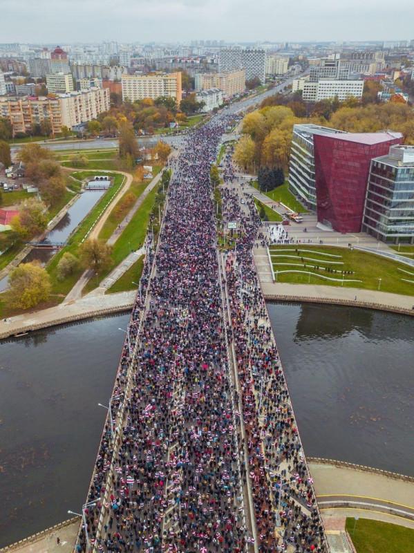 Минск протест 3