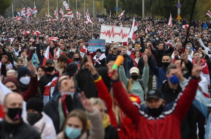 Минск протест 6