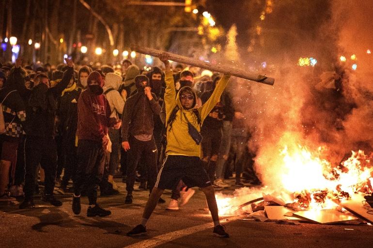 Протесты в Испании 1