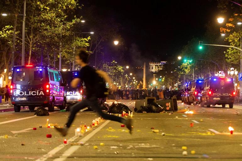 Протесты в Испании 2
