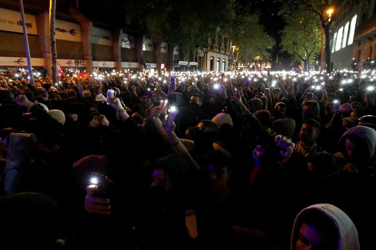 Протесты в Испании 4