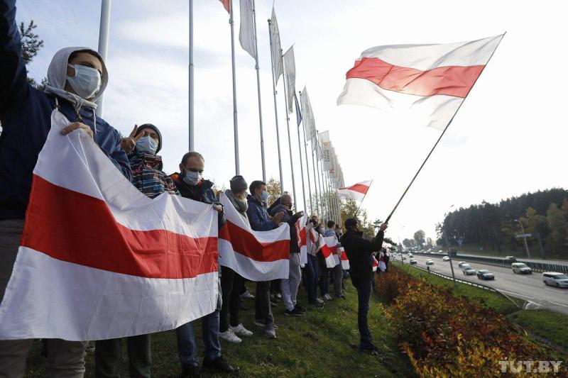Минск протест 2