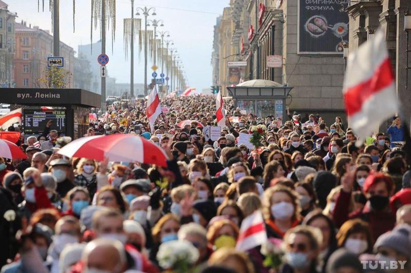 Минск протест 1