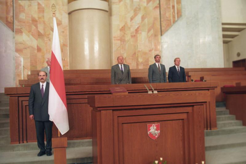 Лукашенко на первой коронации