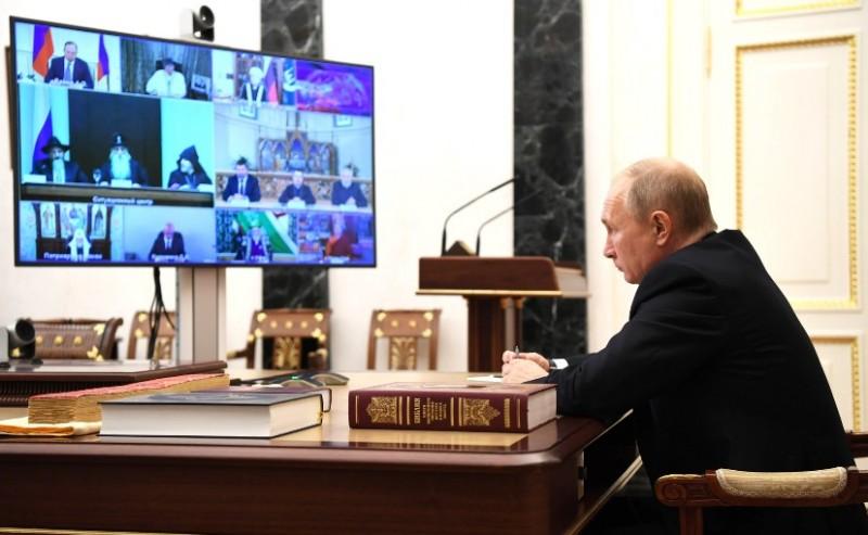 Путин и лидеры