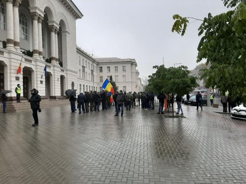 Протест ветеранов 1