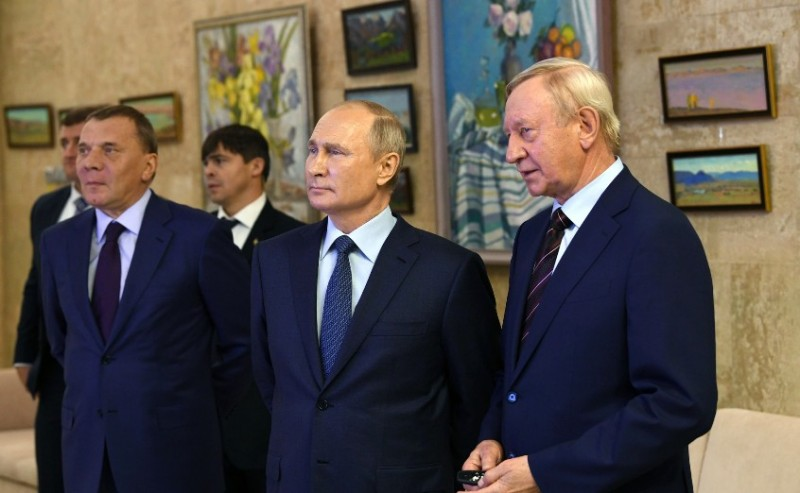 Путин на выезде 4