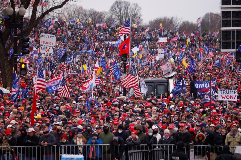 Митинг Трамп