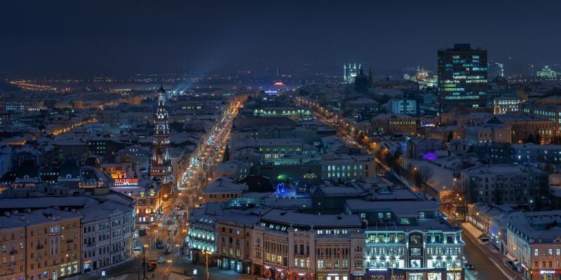 Казань ЗИМА