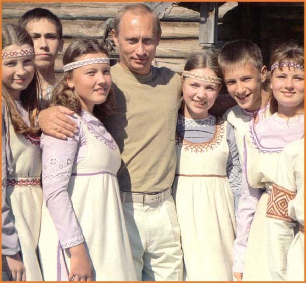 Путин и дети 3