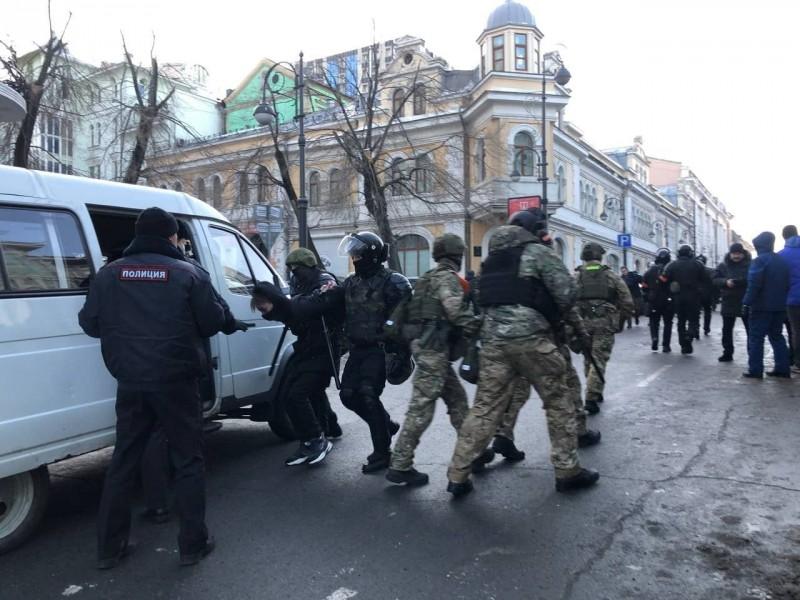 Акция Владивосток 3