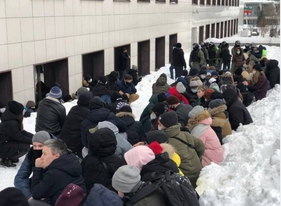 Казань  протест