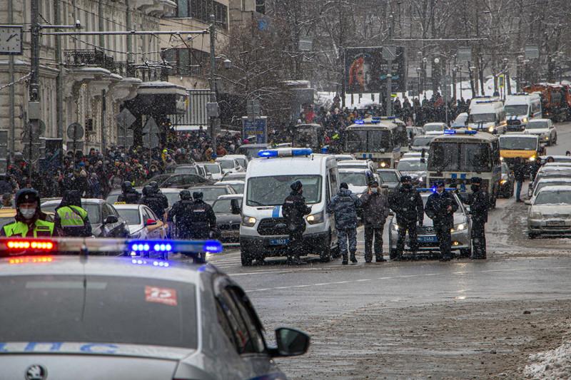 Протест на Калачевской