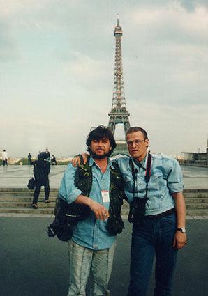 Марат в Париже