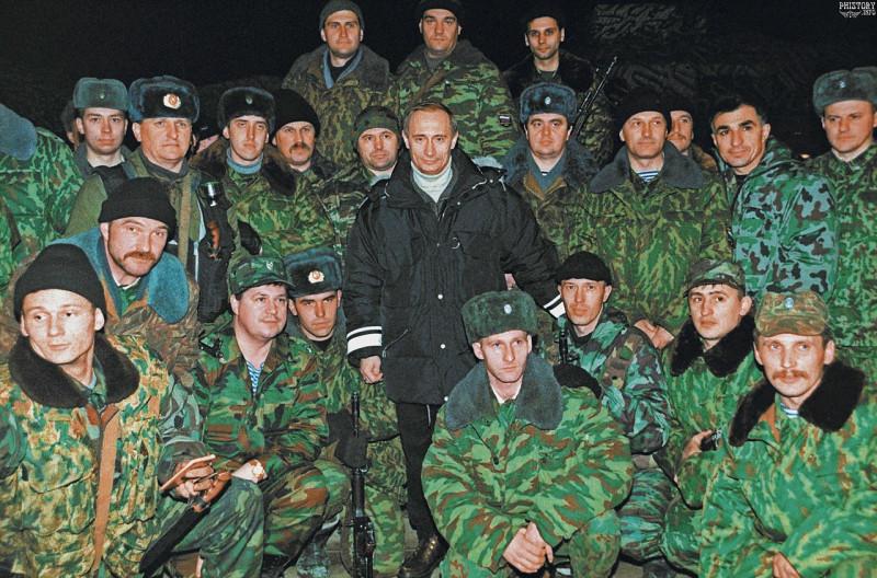 Путин в Чечне