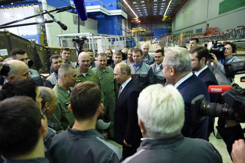 Путин на КАПО