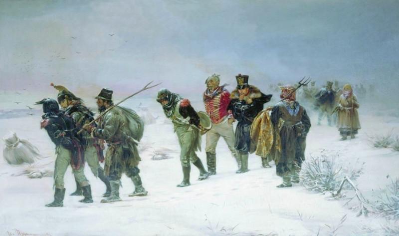 Морозы Наполеон в России