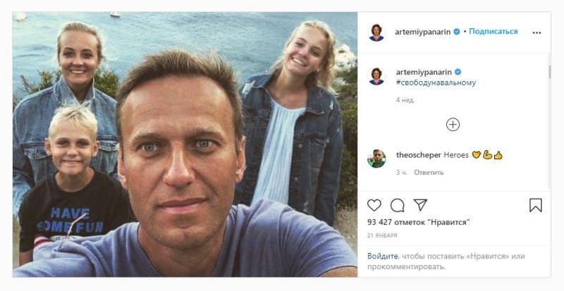 Панарин Навальный