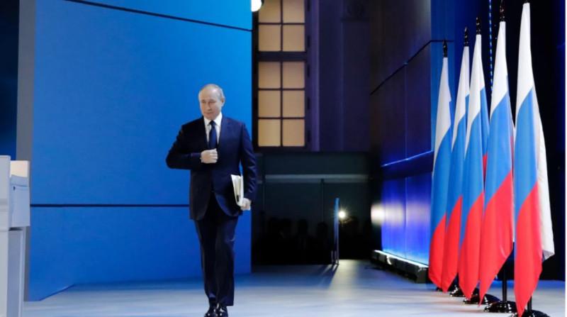 Путин на послании