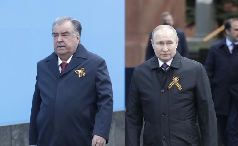 Путин и Рохмон 1