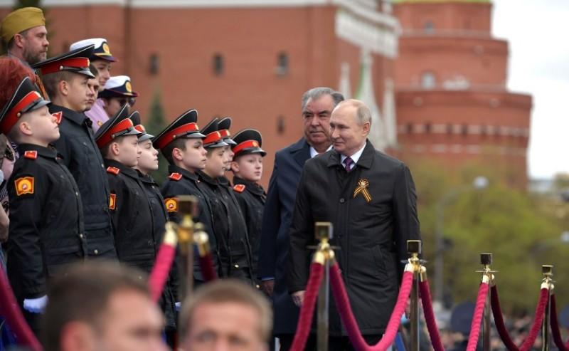 Путин и Рохмон 2