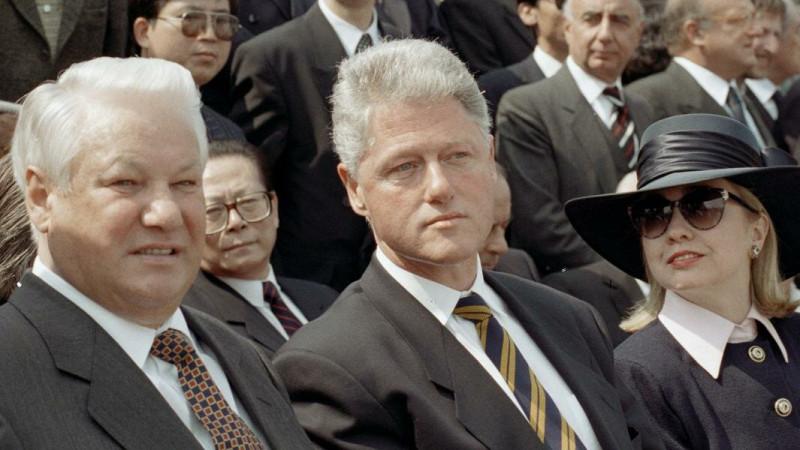 Клинтон в Москве  9 мая 1995 года.jpg 2