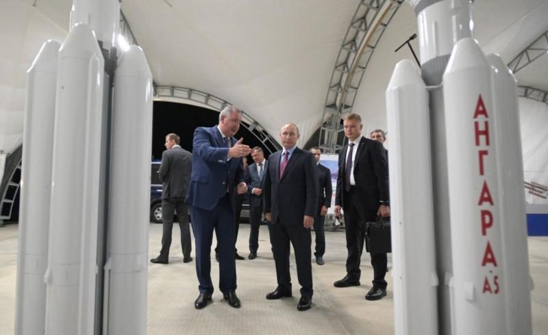 Ангара и Путин
