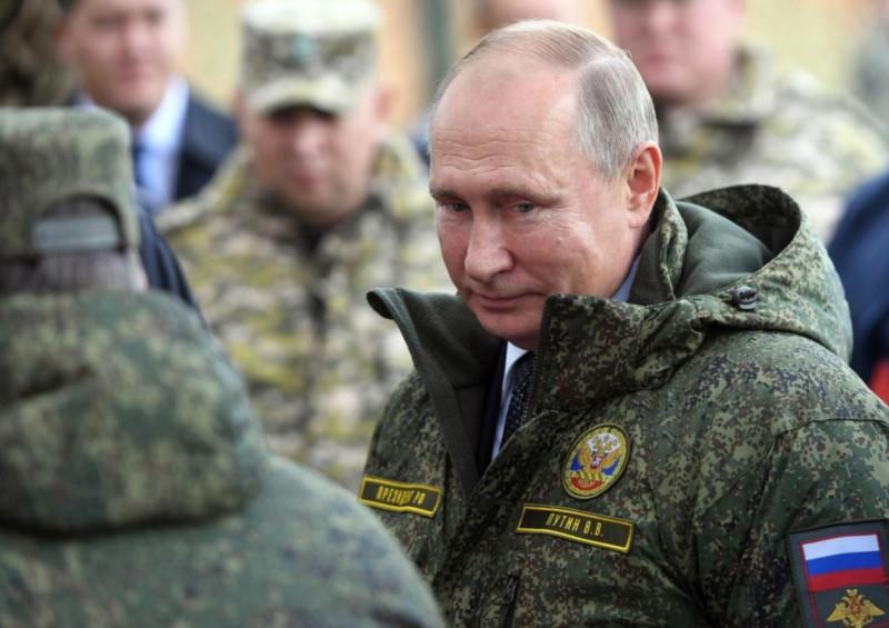 Путин в форме 1