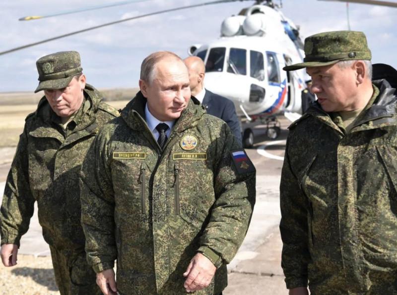 Путин в форме