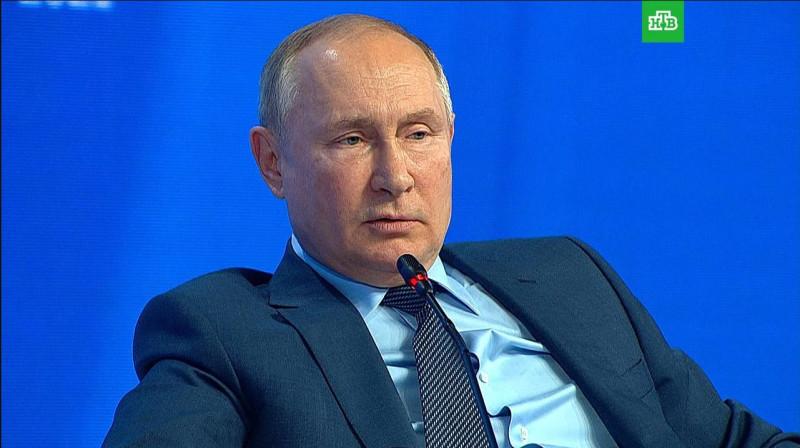 Путин про Муратова