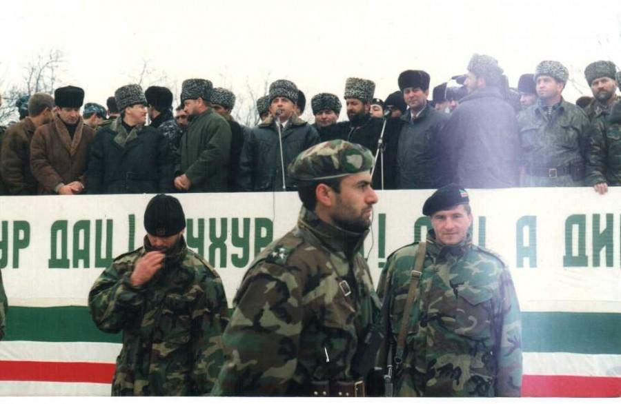 Чечня 1996 год 1