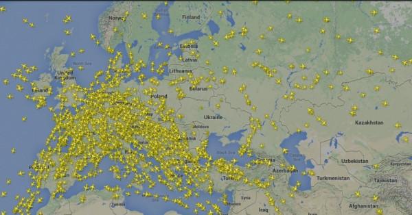 Небо на Европой