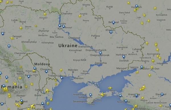 Небо над Украиной
