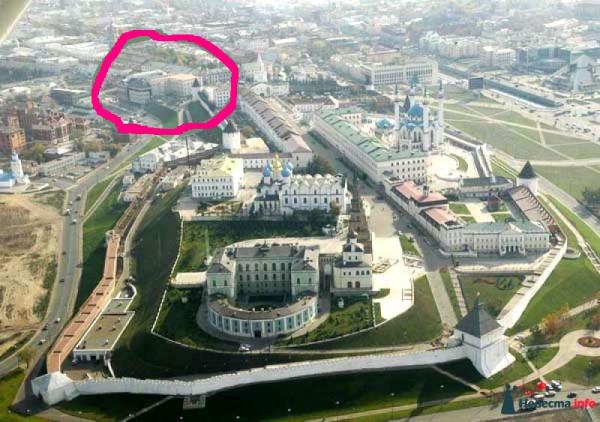 Казань сверху