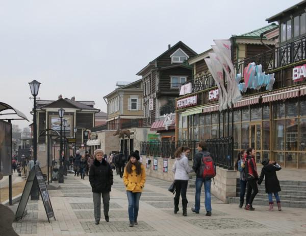 Модный район в иркутске