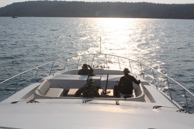Охрана на яхте