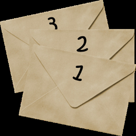 Три конверта