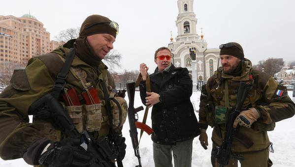 Охлобыстин на Донбассе