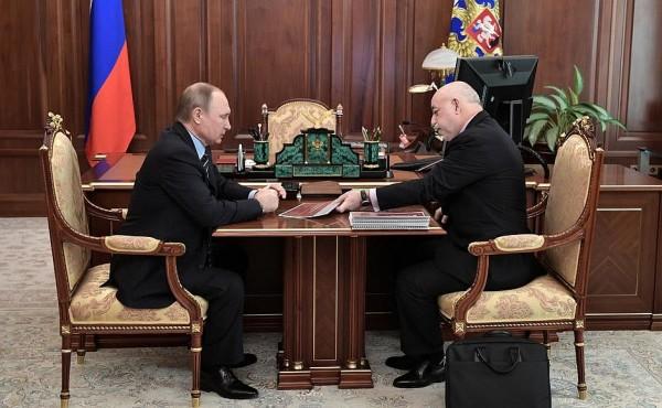 Путин и Вексельбарг