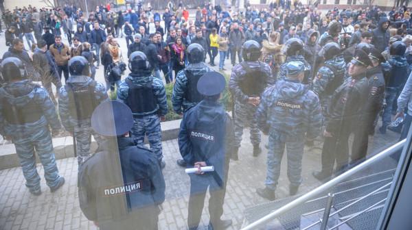 Навальный в Волгограде 2